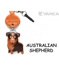 Australian Shepherd Leather Dog Earphone Jack Accessory