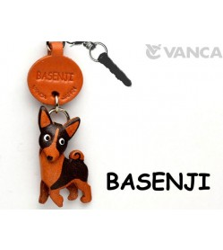 Basenji Leather Dog Earphone Jack Accessory