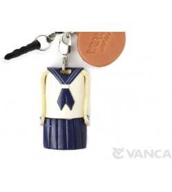 Uniform Girls Sailor Suit Leather goods Earphone Jack Accessory