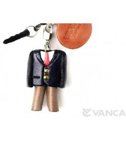 Uniform Boys Blazer Suit Leather goods Earphone Jack Accessory