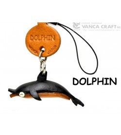 Dolphin Japanese Leather Cellularphone Charm Fish