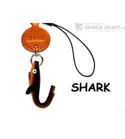Shark Japanese Leather Cellularphone Charm Fish