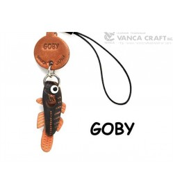 Goby Japanese Leather Cellularphone Charm Fish