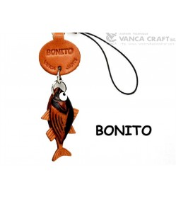 Bonito Japanese Leather Cellularphone Charm Fish