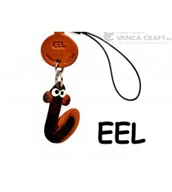 Eel Japanese Leather Cellularphone Charm Fish