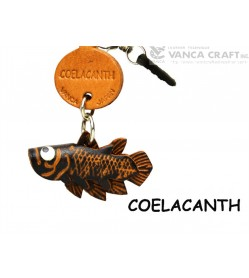 Coelacanth Leather Fish & Sea Animal Earphone Jack Accessory