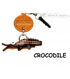 Crocodile Leather Fish & Sea Animal Earphone Jack Accessory