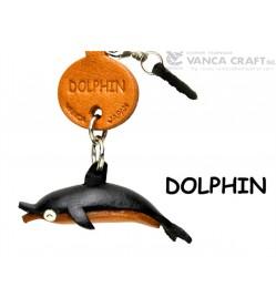 Dolphin Leather Fish & Sea Animal Earphone Jack Accessory