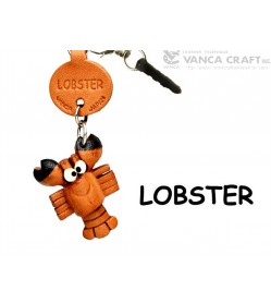 Lobster Leather Fish & Sea Animal Earphone Jack Accessory