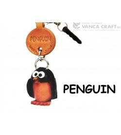Penguin Leather Fish & Sea Animal Earphone Jack Accessory