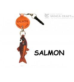 Salmon Leather Fish & Sea Animal Earphone Jack Accessory