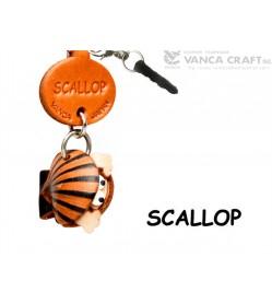 Scallop Leather Fish & Sea Animal Earphone Jack Accessory