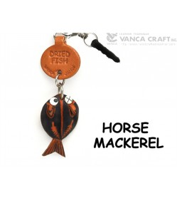 Horse Mackerel Leather Fish & Sea Animal Earphone Jack Accessory