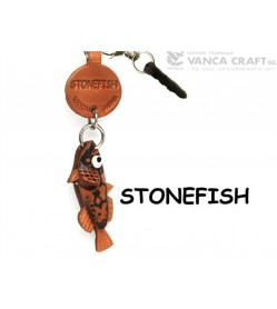 Stonefish Leather Fish & Sea Animal Earphone Jack Accessory