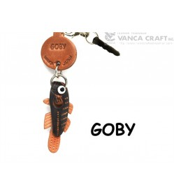 Goby Leather Fish & Sea Animal Earphone Jack Accessory