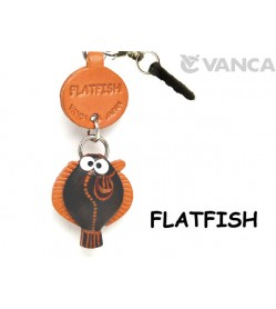 Flatfish Leather Fish & Sea Animal Earphone Jack Accessory