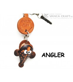 Angler Fish Leather Fish & Sea Animal Earphone Jack Accessory