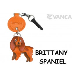 Brittany Leather Dog Earphone Jack Accessory