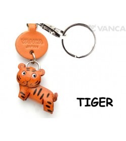 Tiger Japanese Leather Keychains Animal