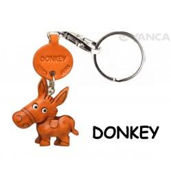 Donkey/Ass Japanese Leather Keychains Animal