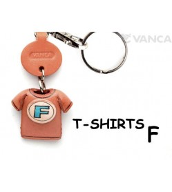 F(Blue) Japanese Leather Keychains T-shirt
