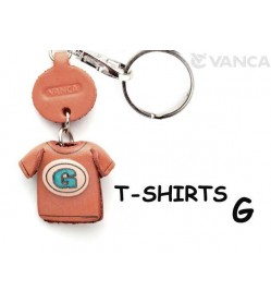 G(Blue) Japanese Leather Keychains T-shirt