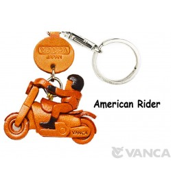 American Rider Japanese Leather Keychains Goods