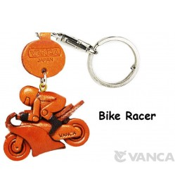 Bike Racer Japanese Leather Keychains Goods