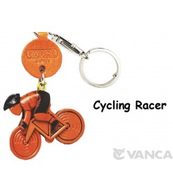 Cycle Racer Japanese Leather Keychains Goods