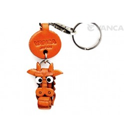 Dragon Leather Keychains Little Zodiac Mascot