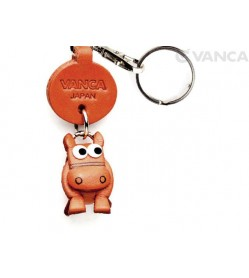 Horse Leather Keychains Little Zodiac Mascot