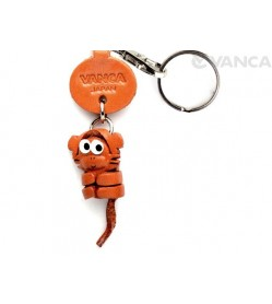 Monkey Leather Keychains Little Zodiac Mascot
