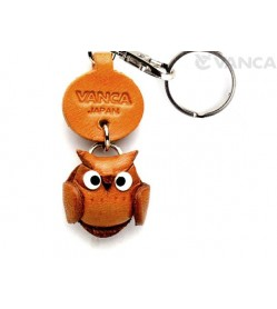 Owl Leather Keychains Little Zodiac Mascot