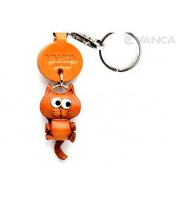 Cat Leather Keychains Little Zodiac Mascot Mascot