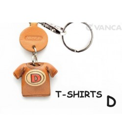 D(Red) Japanese Leather Keychains T-shirt