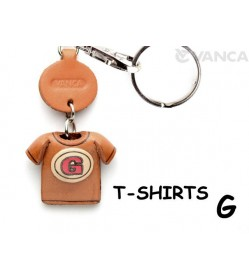 G(Red) Japanese Leather Keychains T-shirt
