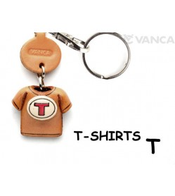 T(Red) Japanese Leather Keychains T-shirt