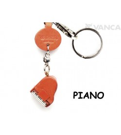 Piano Japanese Leather Keychains Goods