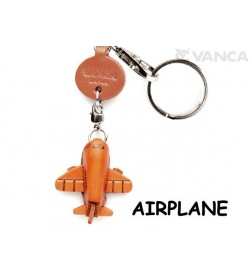 Airplane Japanese Leather Keychains Goods