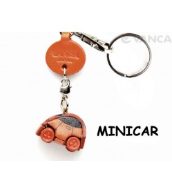 Minicar Japanese Leather Keychains Goods