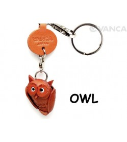 Owl Japanese Leather Keychains Goods