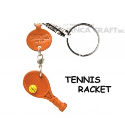 Tennis racket Japanese Leather Keychains Goods