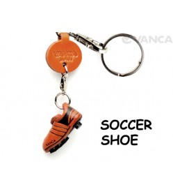 Soccer shoe Japanese Leather Keychains Goods