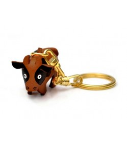Cow Leather Keychain (Chinese Zodiac)