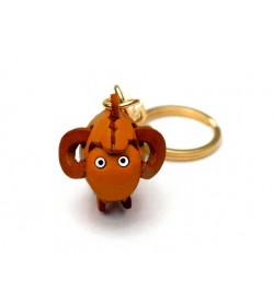 Sheep Leather Keychain (Chinese Zodiac)
