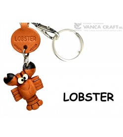 Lobster Japanese Leather Keychains Fish