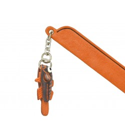 Goby Leather Charm Bookmarker