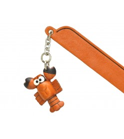 Lobster Leather Charm Bookmarker