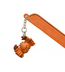 Crab Leather Charm Bookmarker