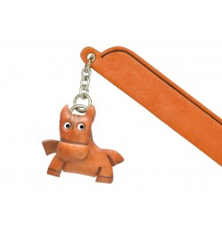 Horse Leather Charm Bookmarker